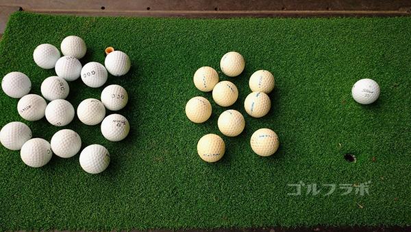AML磯ヶ谷ゴルフクラブのボール