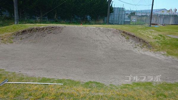 AML磯ヶ谷ゴルフクラブのバンカー練習場