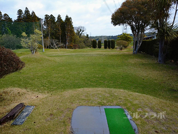 AML磯ケ谷ゴルフクラブの1番ホール