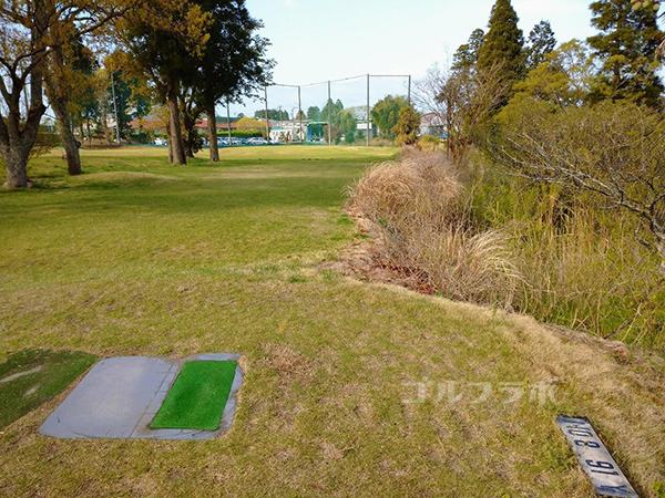 AML磯ケ谷ゴルフクラブの8番ホール