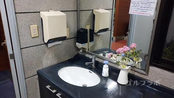アネックスゴルフのトイレ