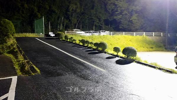 アネックスゴルフの駐車場