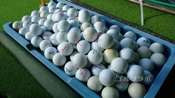 アタックゴルフ市原のボール