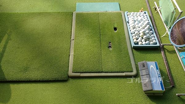 アタックゴルフ市原のマット