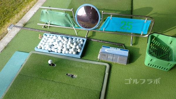 アタックゴルフ市原の打席