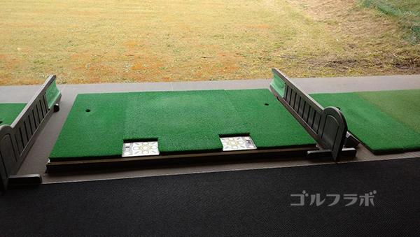 ベースンゴルフクラブのスロープ打席