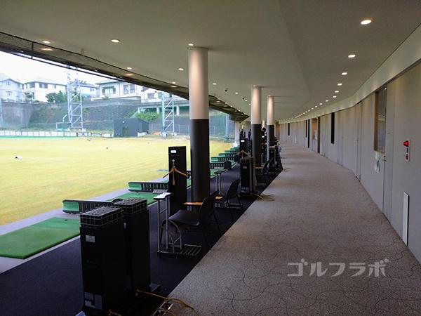ベースンゴルフクラブの打席