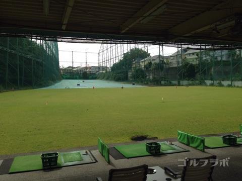 ベースンゴルフクラブの昔の打席