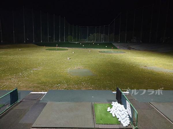 .ジャンボゴルフクラブの2階の打席