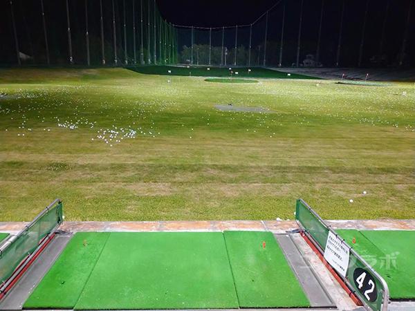 .ジャンボゴルフクラブのフェアウェイ