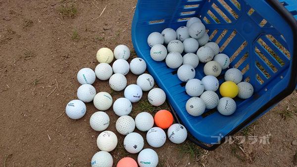 光風台ゴルフガーデンのボール