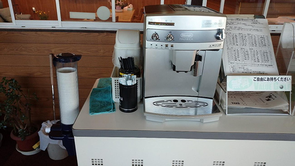 パワーゴルフレンジのコーヒーメーカー
