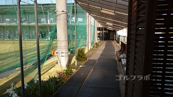 パワーゴルフレンジの渡り廊下