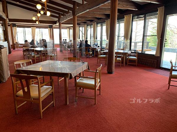 蓼科東急ゴルフコースのレストラン