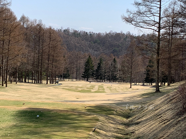 蓼科東急ゴルフコースの11番ホール