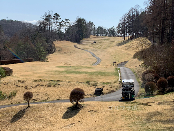 蓼科東急ゴルフコースの13番ホール