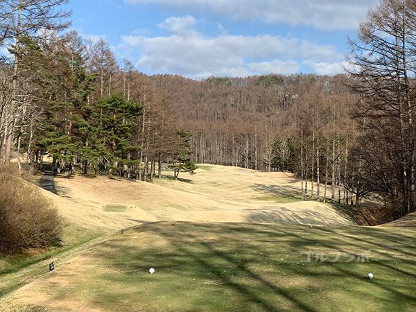 蓼科東急ゴルフコースの18番ホール