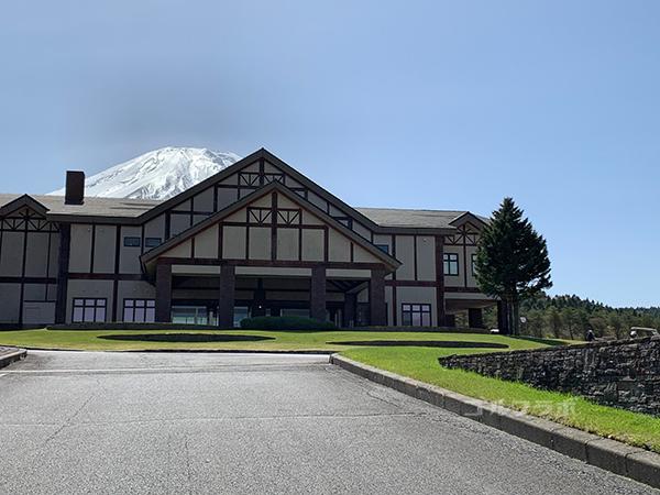 富士クラシックのクラブハウス