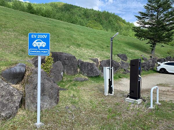 シャトレーゼ カントリークラブ野辺山の駐車場