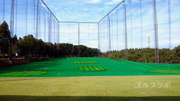 フジゴルフパークのフィールド