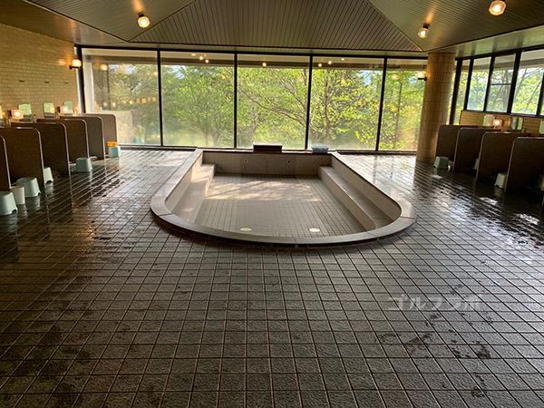 富士見高原ゴルフコースのお風呂