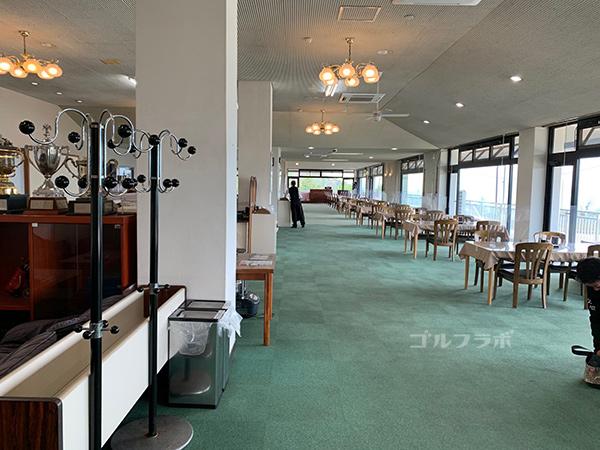 富士見高原ゴルフコースのレストラン