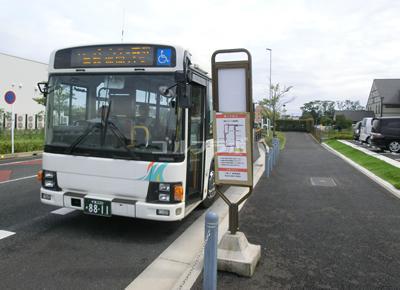 ゴルフリゾートSOGAのシャトルバス