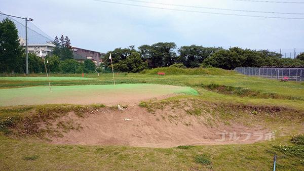 ゴルフパートナー仁戸名練習場のアプローチ練習場