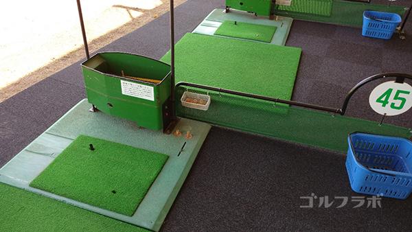 誉田ゴルフセンターの打席