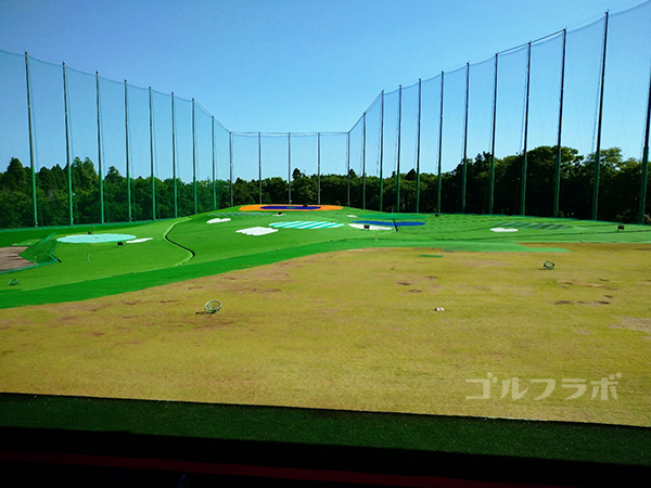 誉田ゴルフセンターのドライビングレンジ