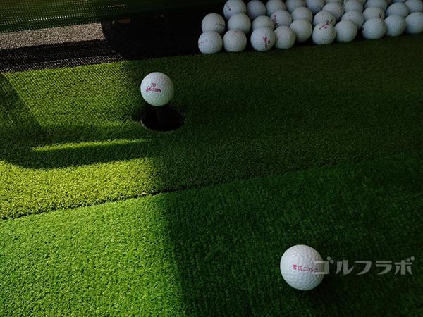 誉田ゴルフセンターのボール