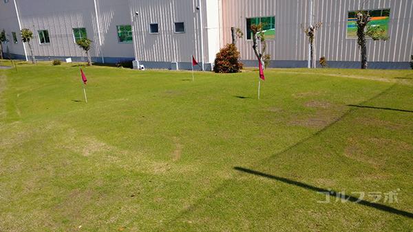 誉田ゴルフセンターのパター練習場