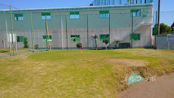 誉田ゴルフセンターのアプローチ練習場