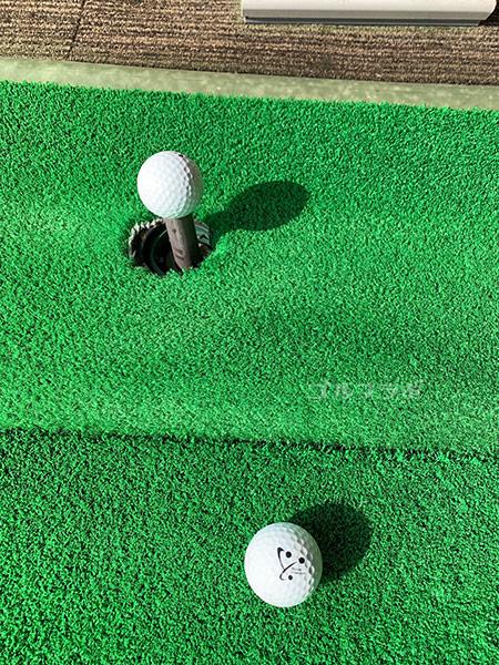 湘南グリーンゴルフのボール