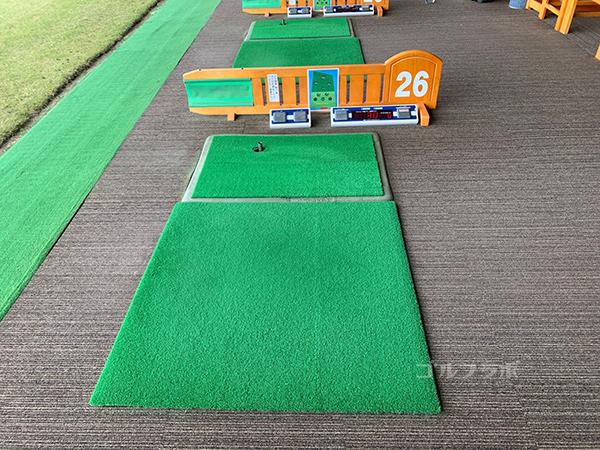 湘南グリーンゴルフのマット