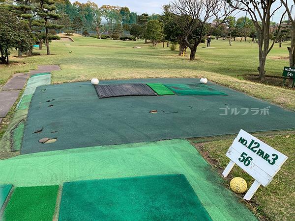 湘南グリーンゴルフの12番ホール