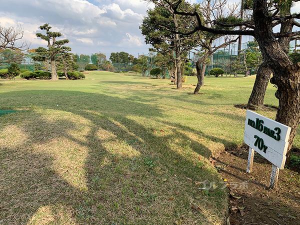 湘南グリーンゴルフの16番ホール