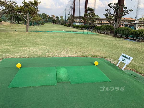 湘南グリーンゴルフの18番ホール