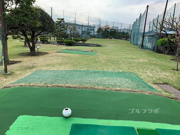 湘南グリーンゴルフの2番ホール