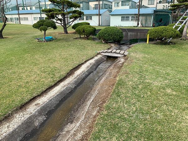湘南グリーンゴルフの3番ホール