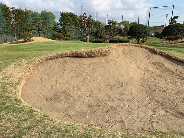 湘南グリーンゴルフの14番ホール