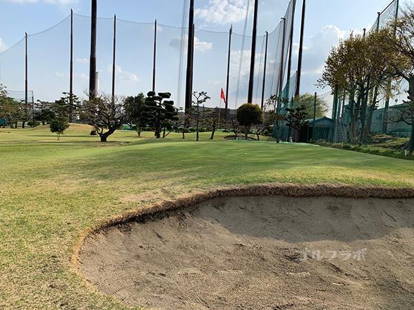 湘南グリーンゴルフの6番ホール