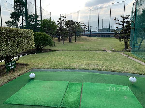湘南グリーンゴルフの8番ホール