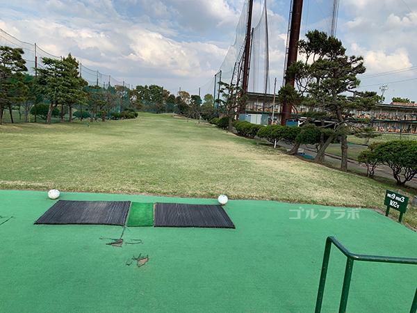 湘南グリーンゴルフの9番ホール