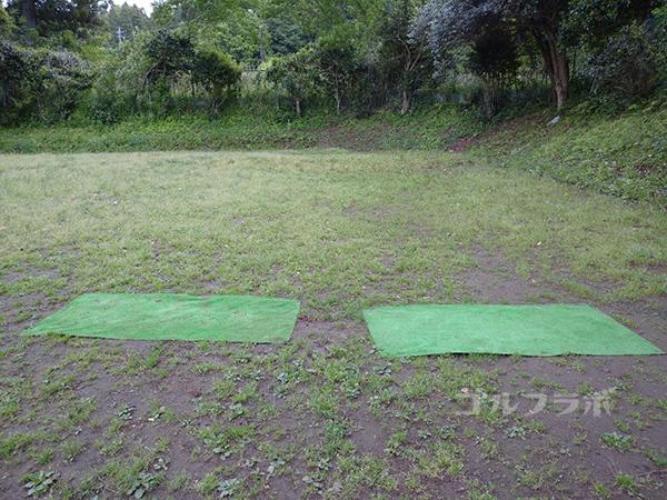 土気ゴルフセンターのアプローチ練習場