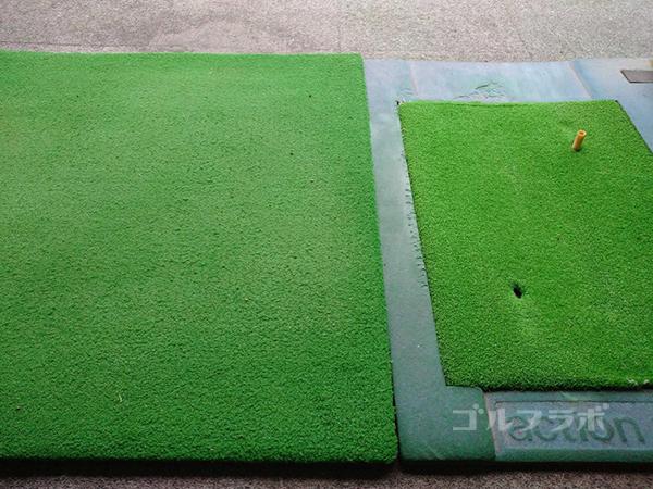 土気ゴルフセンターのマット