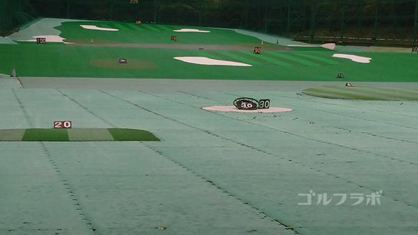 土気ゴルフセンターのターゲット