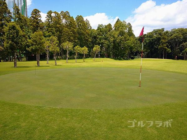 ジャパンゴルフスクールのグリーン