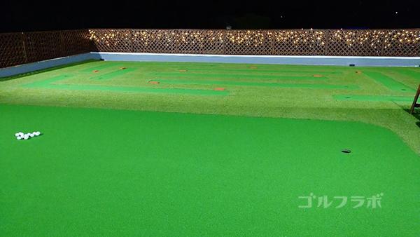 ジャパンゴルフスクールのパッティンググリーン