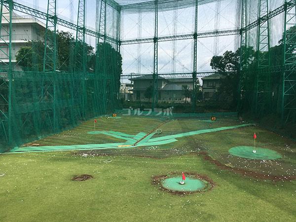 南中野ゴルフセンターの2階打席